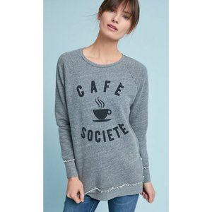 Sol Angeles Cafe Society Graphic Pullover, Size XS